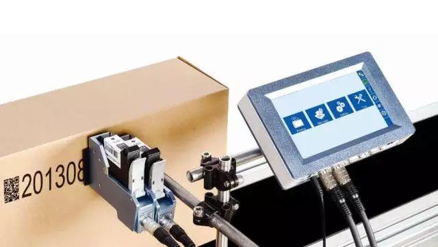 E125贴标喷码应用:即喷即贴 解决方案