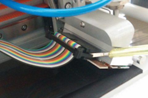 如何更换合肥依玛热转印打码机打印头