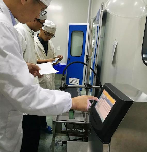 中国区首台videojet 1580安装于知名合资制药企业