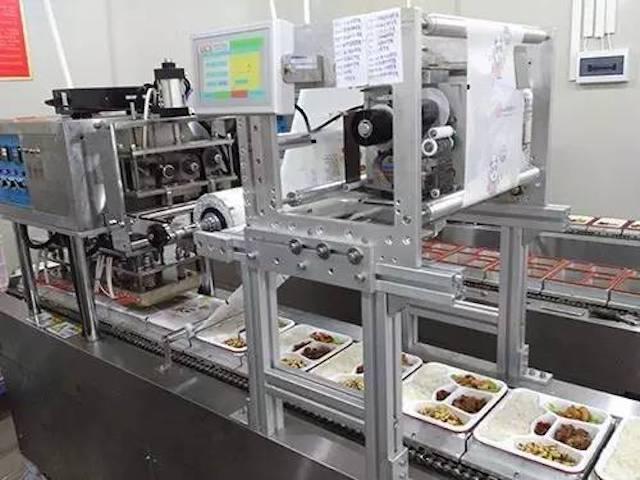 依玛UCS热转印打码机在快餐行业应用