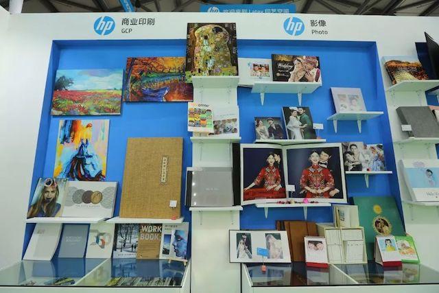 全印展上,HP喷码机推出各类打印技术的作品