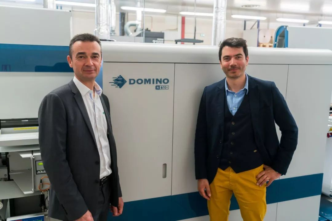多米诺N610i喷码机如何帮助网络印刷行业