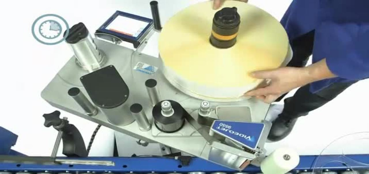 Videojet 9550 自动打印贴标机
