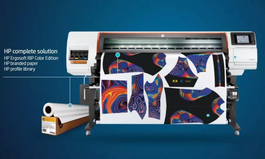 惠普推出HP Stitch S系列染料热升华喷码机 正式进军数码印花领域