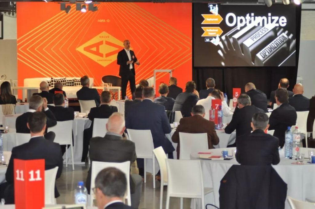 """爱克发""""价值""""会议,激励欧洲印刷厂家创造价值"""