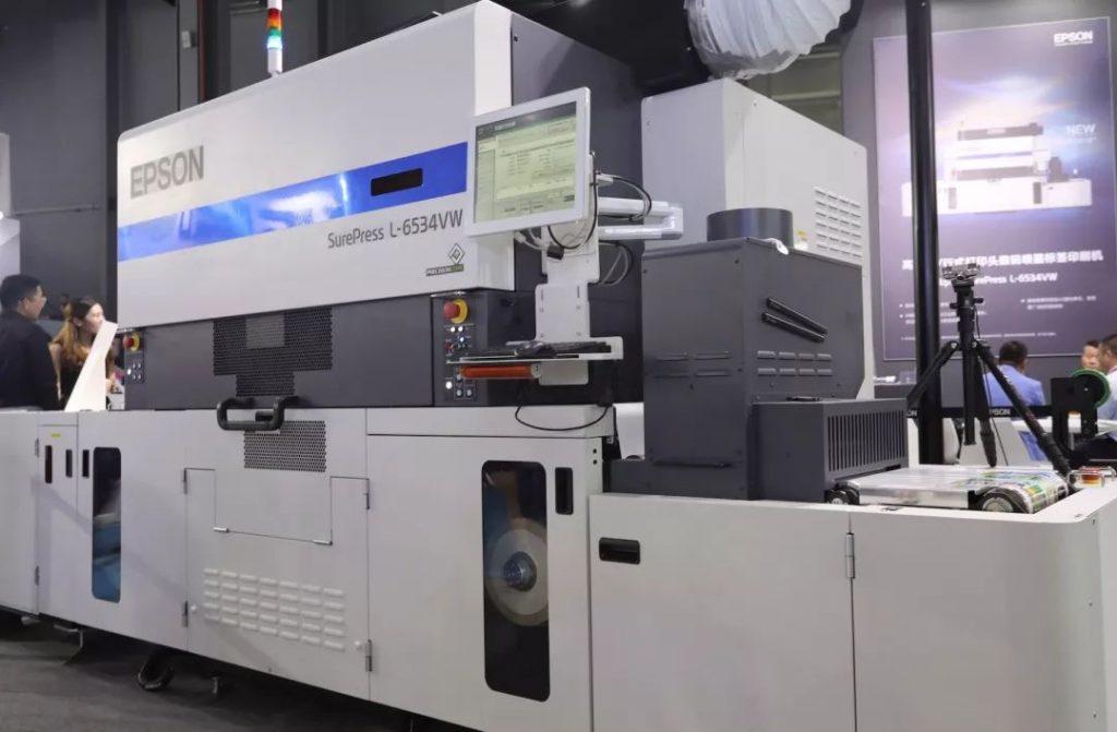 爱普生全新数字标签印刷机家族产品介绍