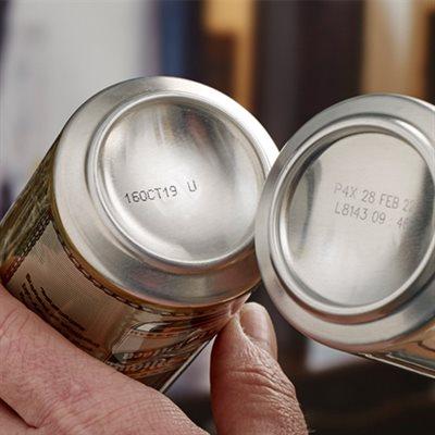 饮料金属罐喷码