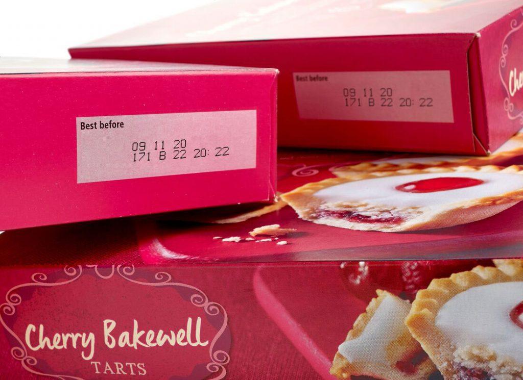 巧克力纸盒喷码
