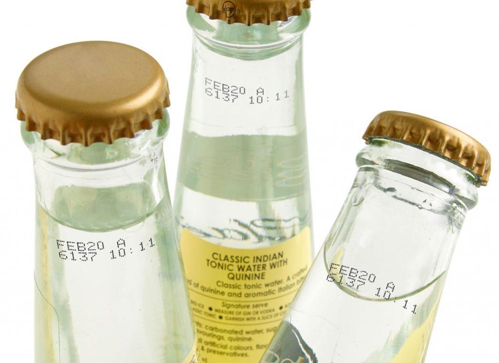 酒水饮料玻璃喷码