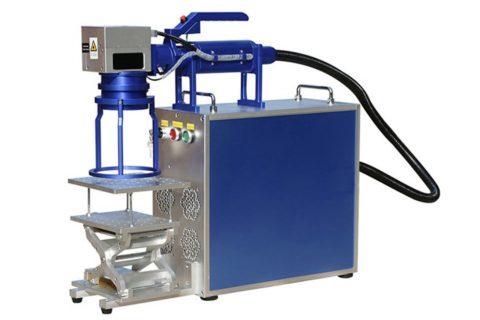 便携小巧,JX系列手持激光喷码机发布