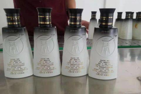 激光喷码机在一般白酒行业应用