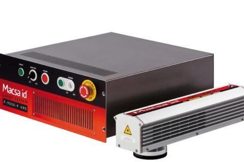 玛萨光纤激光机 F-9000系列-啤酒行业易拉罐高速生产线打码应用