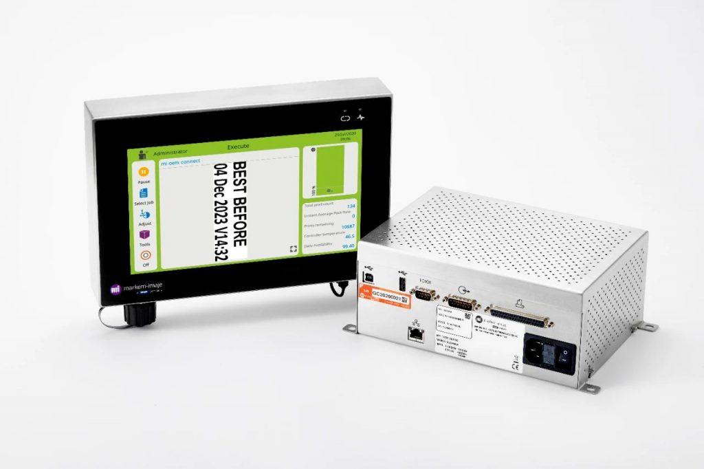 热转印打码机为包装线提供无缝集成方案
